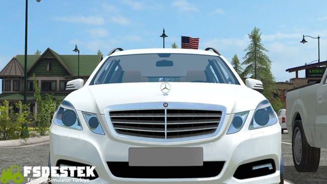 Photo of FS17 – Mercedes-Benz E350 Araba Yaması V1