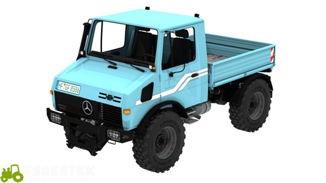 Photo of FS17 – Mercedes Unimog 1600 4 Kamyonet V1