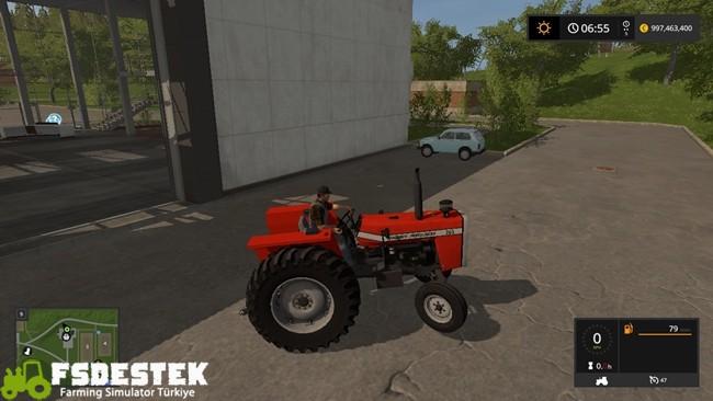 Photo of FS17 – Massey Ferguson 265 Traktör Yaması V2