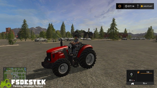 Photo of FS17 – Massey Ferguson 5445 Traktör