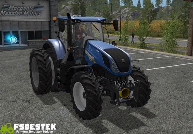 Photo of FS17 – New Holland T7 Çift Tekerlekli Traktör Yaması V1
