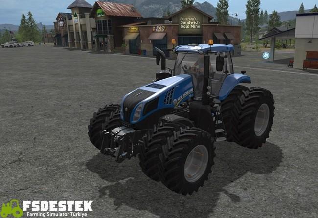 Photo of FS17 – New Holland T8 Traktör V1