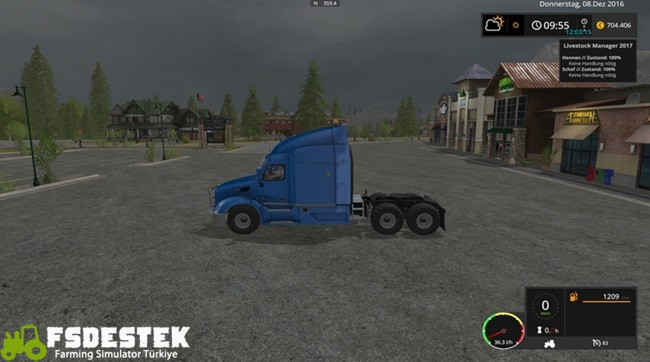 Photo of FS17 – Peterbilt 579 Tır Yaması V2