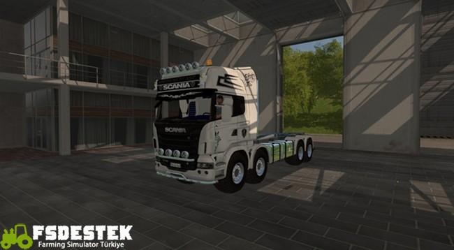Photo of FS17 – Scania R730 Itrunner Kamyon Modu V1