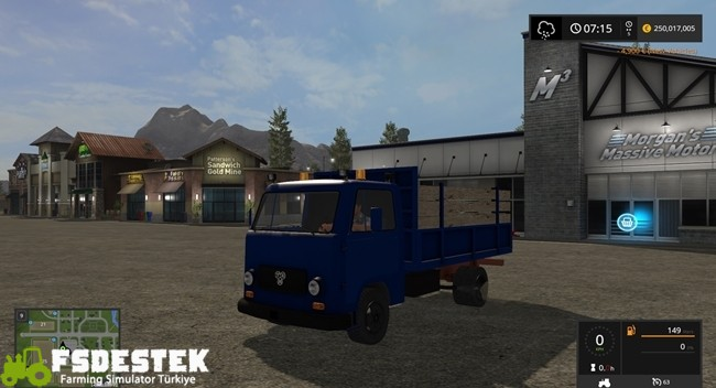 Photo of FS17 – Tamic 60- 80 Kamyon Modu V1