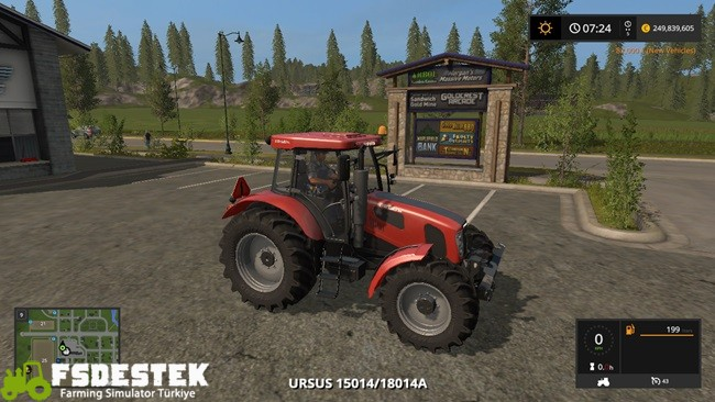 Photo of FS17 – Ursus 15014 ve 18014A Traktör V1