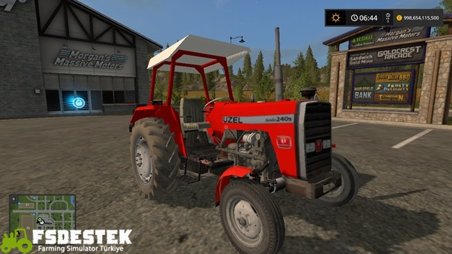 Photo of FS17 – Uzel 240S Turbo + Tente Türk Traktörü