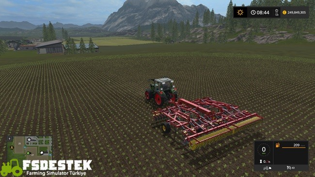 Photo of FS17 – Vaderstad Topdown 700 Kültivatör