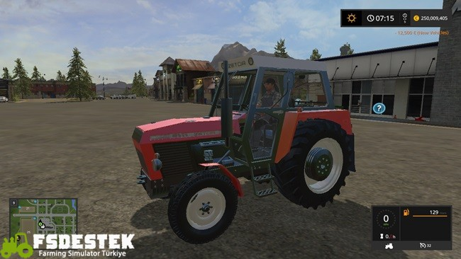 Photo of FS17 – Zetor Crystal 12011 Traktör