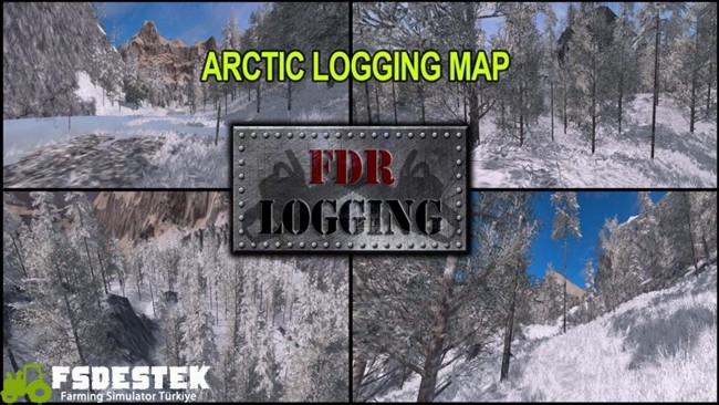 Photo of FS17 – Arctic Logging Harita Yaması