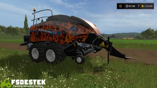 Photo of FS17 – Bigbaler 1290 Balya Makinası V1