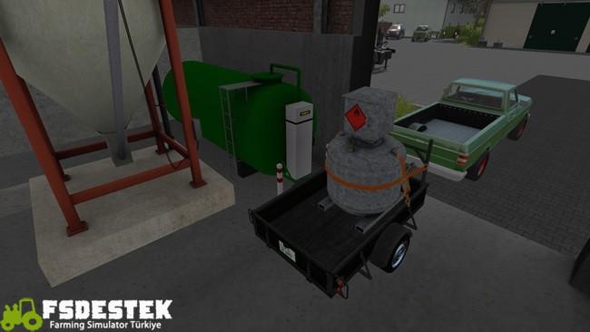 Photo of FS17 – Çiftlik Benzin İstasyonu V1.0.0.1