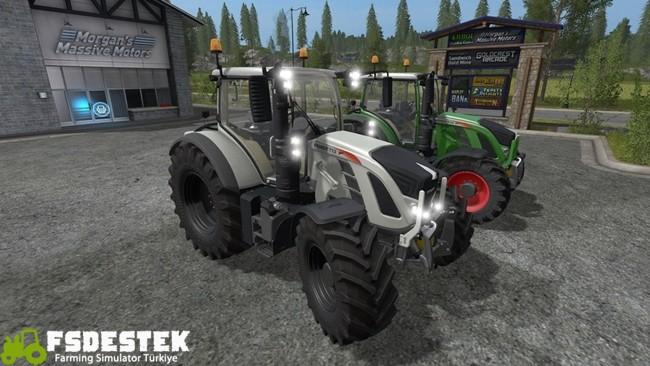 Photo of FS17 – Fendt 700 Vario Traktör