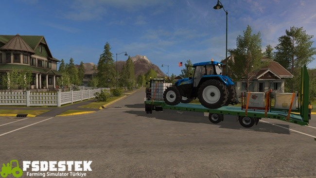 Photo of FS17 – Fliegl Lowbody Römork 1.0.0.6