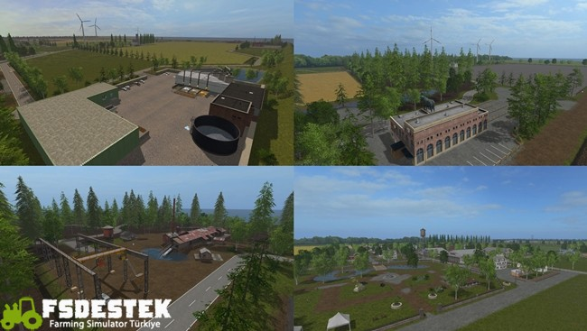 Photo of FS17 – Frisian March Harita Yaması V1.8