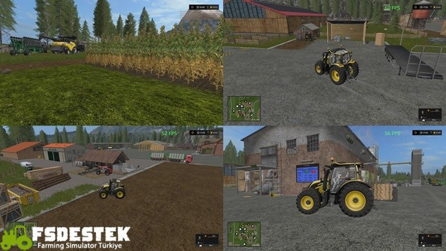 Photo of FS17 – Goldcrest Amerika Haritası V1.6.3