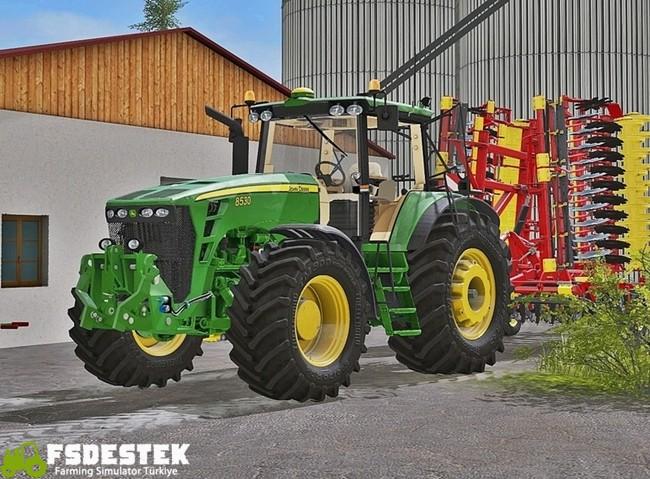 Photo of FS17 – John Deere 8530 Traktör V2.2