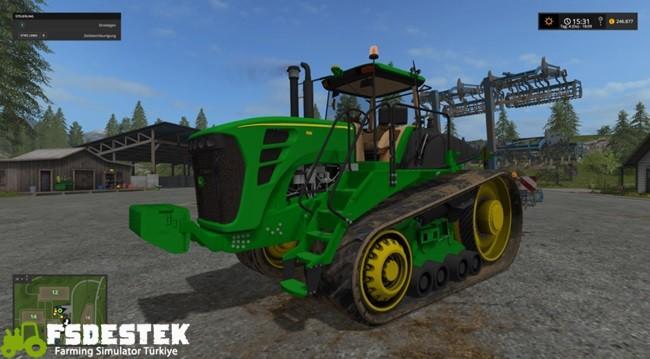 Photo of FS17 – John Deere 9630T Paletli Traktör