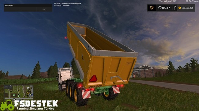 Photo of FS17 – Joskin Trans Space Römork V4