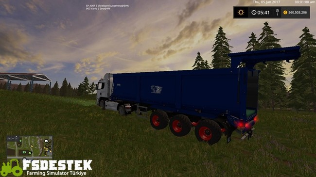 Photo of FS17 – Krampe SB3060 Römork V4.1
