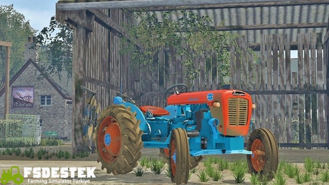 Photo of FS17 – Lamborghini 1R Traktör Yaması V1