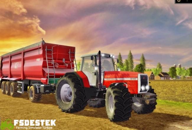 Photo of FS17 – Massey Ferguson 8140 Traktör V2
