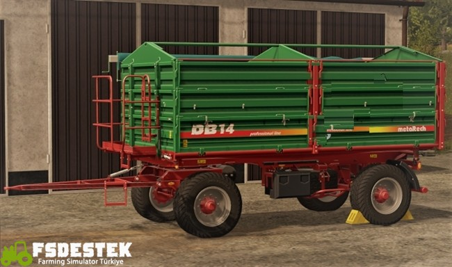 Photo of FS17 – Metaltech DB14 Yeşil Römork