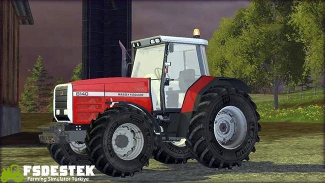 Photo of FS17 – Massey Ferguson 8140 Traktör V1
