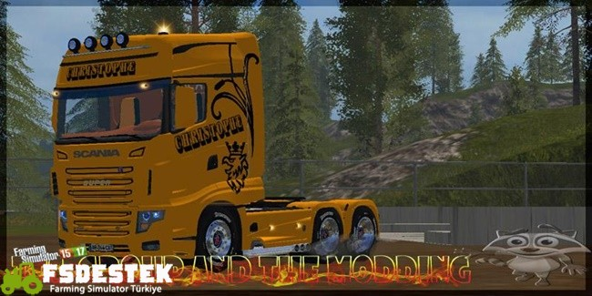 Photo of FS17 – Scania Christophe 700 Evo Kamyon