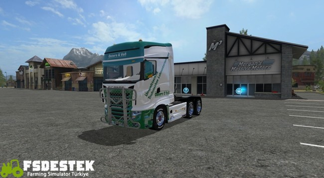 Photo of FS17 – Scania R700 Easter & Voss Kamyon V1