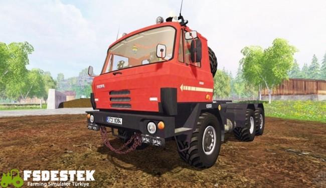 Photo of FS17 – Tatra 815 6X6 Kamyon Modu