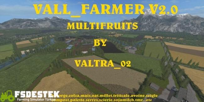 Photo of FS17 – Vall Çiftlik Haritası V2