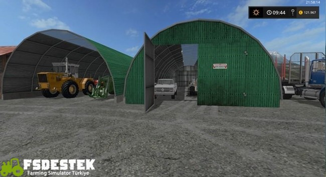 Photo of FS17 – Yerleştirilebilir Varil Şeklinde Garaj V1