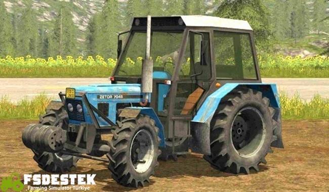 Photo of FS17 – Zetor 7045 HS Traktör
