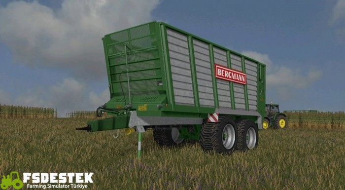 Photo of FS17 – Bergmann THW 30 Römork