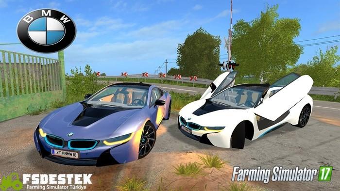 Photo of FS17 – BMW i8 Araba Yaması V1