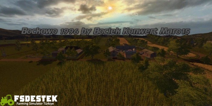 Photo of FS17 – Bockowo 1996 Çiftlik Haritası V1
