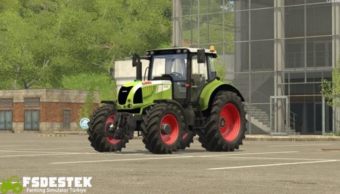 Photo of FS17 – Claas Arion 540 Traktör