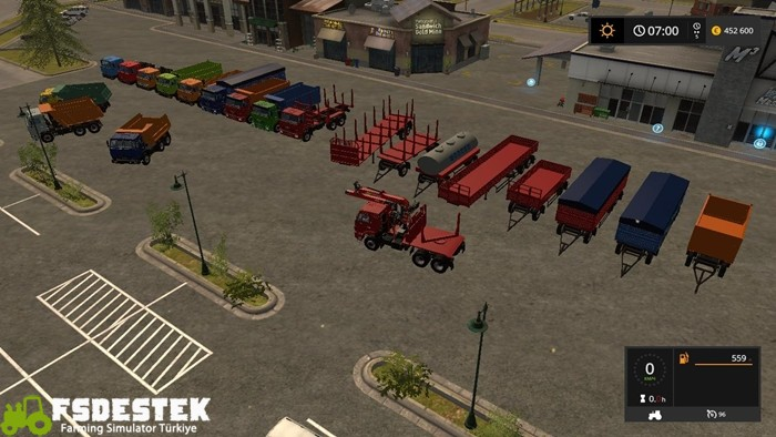 Photo of FS17 – Kamaz Büyük Paket V1
