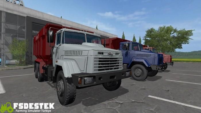 Photo of FS17 – Kraz 65055 Kamyon V1