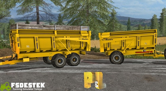Photo of FS17 – Maitre Römork Paketi V1.1