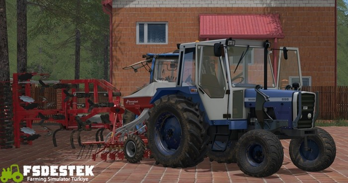 Photo of FS17 – Massey Ferguson 698 Traktör V 1.17