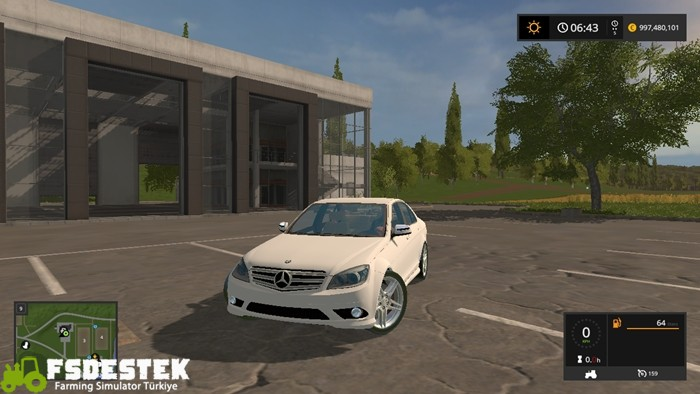 Photo of FS17 – Mercedes-Benz C350