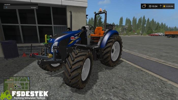 Photo of FS17 – New Holland T4 Kommunal Traktör V2.4