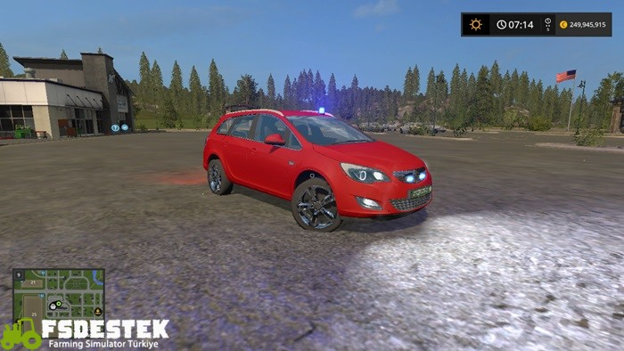 Photo of FS17 – Opel Astra Kdow V1