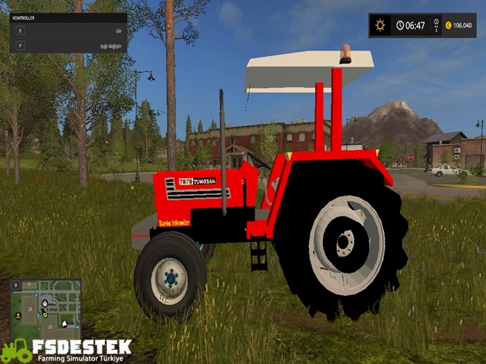 Photo of FS17 – Tümosan 7070 2WD