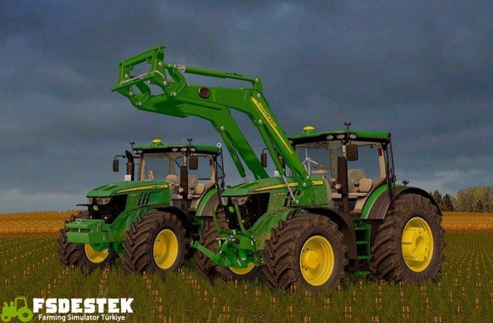 Photo of FS17 – John Deere 6230/6250R V3 Traktör Modu