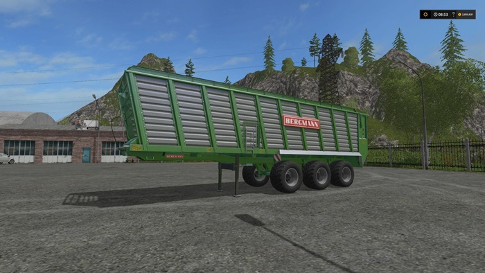 Photo of FS17 – Bergmann HTW85 Römork V1