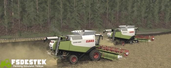 Photo of FS17 – Claas Lexion 600 Biçer Döver Paketi