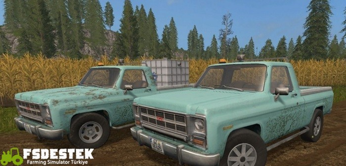 Photo of FS17 – GMC Pikap